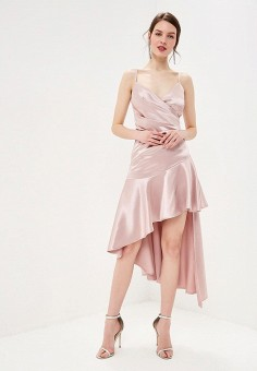 271fdf2ef3725 Платье, Goddiva, цвет: розовый. Артикул: GO014EWEQJE1. Одежда / Платья и