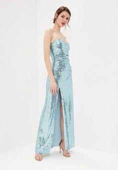 a9bdae72e Платье, Goddiva, цвет: голубой. Артикул: GO014EWEQJR6. Одежда / Платья и