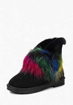 eb50a332e6690 Полусапоги, Grand Style, цвет: черный. Артикул: GR025AWCFAE1. Обувь / Сапоги