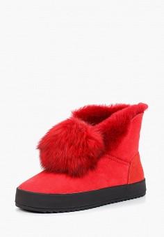 2ad2218f1d0f Полусапоги, Grand Style, цвет  красный. Артикул  GR025AWCFAF6. Обувь