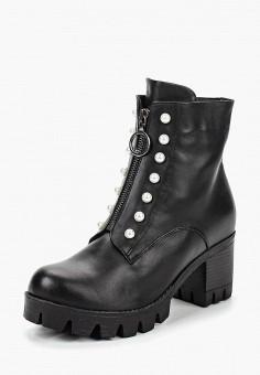 Ботильоны, Grand Style, цвет  черный. Артикул  GR025AWCFBT9. Обувь 7e6d1ee8ad9