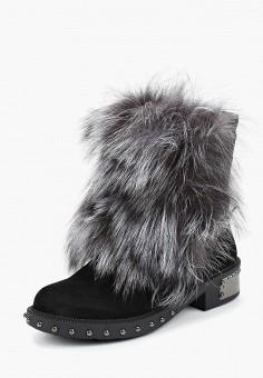 12eef37666f8 Ботинки, Grand Style, цвет  черный. Артикул  GR025AWCVFM6. Обувь