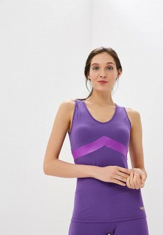 Майка спортивная, Grishko, цвет  фиолетовый. Артикул  GR371EWCJSN7. Спорт    Фитнес f7f5290364b