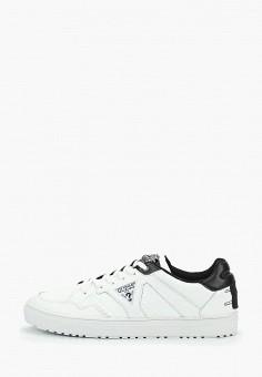 Кеды, Guess, цвет  белый. Артикул  GU460AMDKSE2. Обувь   Кроссовки и 6c14d996195