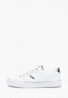 Кеды, Guess, цвет  белый. Артикул  GU460AWDPKP1. Обувь   Кроссовки и e713f3605d7