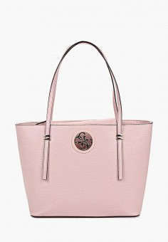 33afce502ada Сумка, Guess, цвет: розовый, серебряный. Артикул: GU460BWEANO3. Аксессуары /