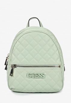 64542a196105 Рюкзак, Guess, цвет: зеленый. Артикул: GU460BWEANS6. Аксессуары / Рюкзаки
