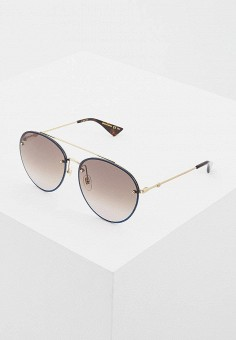 Очки солнцезащитные, Gucci, цвет  коричневый. Артикул  GU641DUCZMT4. Premium a6b0d9bf584