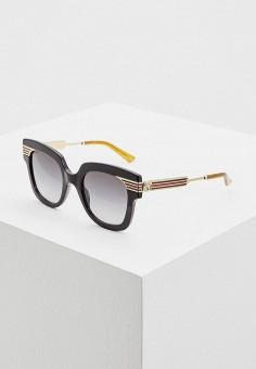 Очки солнцезащитные, Gucci, цвет  черный. Артикул  GU641DWCZMS9. Premium 6e35f7a8d25