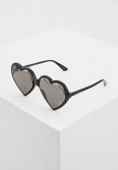 Очки солнцезащитные, Gucci, цвет  черный. Артикул  GU641DWCZMT6. Premium 4fcceb958ea