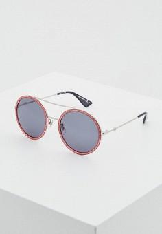 Очки солнцезащитные, Gucci, цвет  бордовый. Артикул  GU641DWTNF41.  Аксессуары   Очки 645d17e15d9