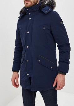 d138dc18a839 Парка, Guess Jeans, цвет  синий. Артикул  GU644EMCFVM5. Одежда   Верхняя