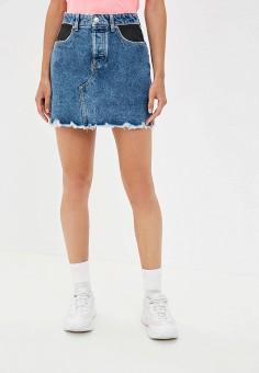 2a61530adfcd Женские джинсовые юбки — купить в интернет-магазине Ламода