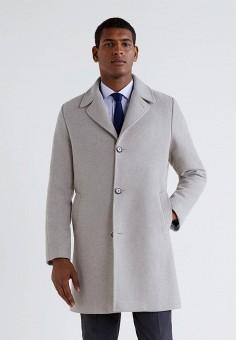 9b195d62056e Пальто, Mango Man, цвет  бежевый. Артикул  HE002EMCOBK9. Одежда   Верхняя