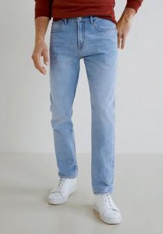 55891ae995c9 Джинсы, Mango Man, цвет: голубой. Артикул: HE002EMDQDK6. Одежда / Джинсы