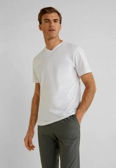 94713d763805 Футболка, Mango Man, цвет: белый. Артикул: HE002EMFMAN8. Одежда / Футболки