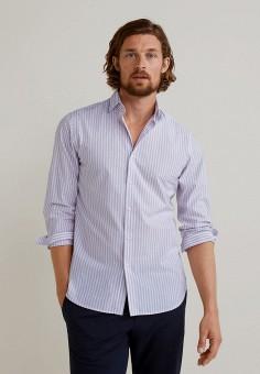 be28fea60f94afc Рубашка, Mango Man, цвет: фиолетовый. Артикул: HE002EMFOGI9. Одежда /  Рубашки