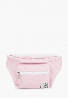 b71a09132217 Сумка поясная, Herschel Supply Co, цвет: розовый. Артикул: HE013BUFHRP9.  Спорт