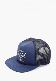 d3f5267a Бейсболка, Herschel Supply Co, цвет: синий. Артикул: HE013CUAOIG5.  Аксессуары /