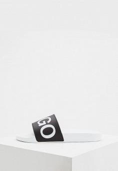 Сланцы, Hugo Hugo Boss, цвет  черный. Артикул  HU286AMDBNW7. Обувь   f3e8e498b87