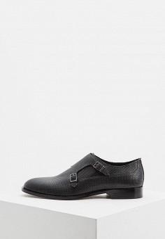 658c4ffb5d8f Туфли, Hugo Hugo Boss, цвет  черный. Артикул  HU286AMDDET6. Обувь