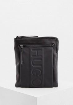 Сумка, Hugo Hugo Boss, цвет  черный. Артикул  HU286BMDDEL9. Аксессуары   5b57c1869a6
