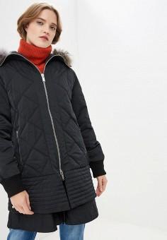 Куртка утепленная, Iceberg, цвет  черный. Артикул  IC461EWBQKS3. Premium    Одежда a7e3e738490