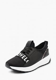Кроссовки, Ideal Shoes, цвет  черный. Артикул  ID007AWANNB4. Обувь 0dbf447e0fd