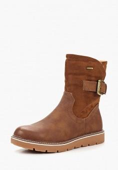 ec20f871fe9f Полусапоги, Ideal Shoes, цвет  коричневый. Артикул  ID007AWCXFU8. Обувь    Сапоги