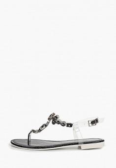 848b3b43 Сандалии, Ideal Shoes, цвет: черный. Артикул: ID007AWFDYU1. Обувь / Сандалии