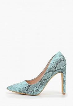 4e593bf43 Туфли, Ideal Shoes, цвет: голубой. Артикул: ID007AWFDYX8. Обувь / Туфли