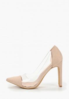 a7c428d30 Туфли, Ideal Shoes, цвет: бежевый. Артикул: ID007AWFFUB7. Обувь / Туфли