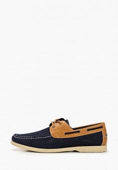 13513f63 Топсайдеры, Instreet, цвет: синий. Артикул: IN011AMEKTP9. Обувь / Мокасины и