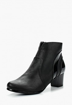 Ботильоны, Instreet, цвет: черный. Артикул: IN011AWFZX96. Обувь / Ботильоны