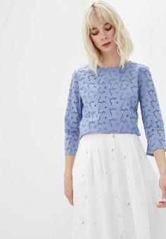 1617cc9d4305576 Блуза, Iwie, цвет: голубой. Артикул: IW001EWEKZZ2. Одежда