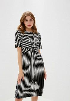 884d21ad202c7e7 Платье, Iwie, цвет: черный. Артикул: IW001EWELCV0. Одежда / Одежда больших