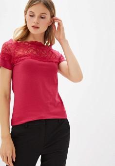 2412ba860fa7f Футболка, Iwie, цвет: розовый. Артикул: IW001EWELCY8. Одежда / Одежда  больших