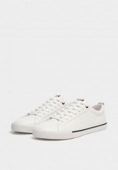 867d2f49 Кеды, Pull&Bear, цвет: белый. Артикул: IX001XM001NX. Обувь