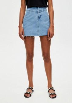 73d1fc0c2a7 Купить женские джинсовые юбки от 359 руб в интернет-магазине Lamoda.ru!