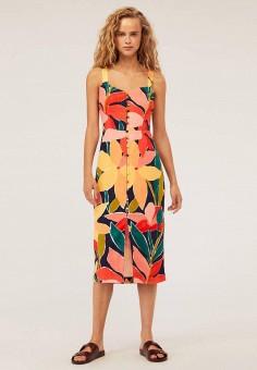 f7ef044db1627e3 Платье, Oysho, цвет: мультиколор. Артикул: IX001XW008TT. Одежда / Платья и