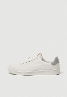 99aab49d8 Кеды, Pull&Bear, цвет: белый. Артикул: IX001XW009CP. Обувь