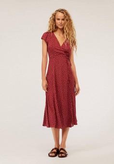 2b3ddf9023ca7 Платье, Oysho, цвет: бордовый. Артикул: IX001XW009PG. Одежда / Платья и