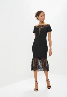 51e93421af83 Платье, Izabella, цвет  черный. Артикул  IZ002EWAWM58. Одежда   Платья и