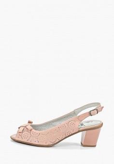 f6b0b3437 Босоножки, Jana, цвет: розовый. Артикул: JA125AWDLZN2. Обувь / Босоножки