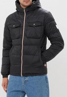 3ae92431 Куртка утепленная, Jack & Jones, цвет: черный. Артикул: JA391EMBZRD3.