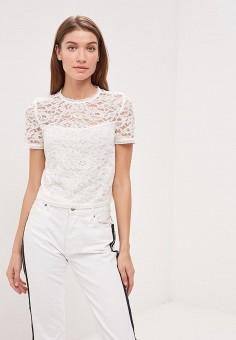 Блуза, Jennyfer, цвет  белый. Артикул  JE008EWCYNM7. Одежда   Блузы и 2ad47ece7ea