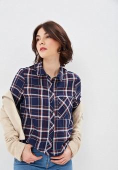 1f21db8f864643b Рубашка, Jennyfer, цвет: синий. Артикул: JE008EWEWQG1. Одежда / Блузы и