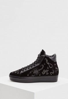 Кеды, John Richmond, цвет  черный. Артикул  JO003AWCEKR0. Premium   Обувь df1372101c7