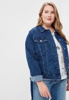 d0cbd757646 Купить женские джинсовые куртки больших размеров от 3 700 руб в ...