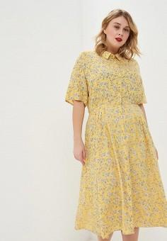 5997c276f29d Платье, Junarose, цвет: желтый. Артикул: JU008EWEVLG4. Одежда / Платья и